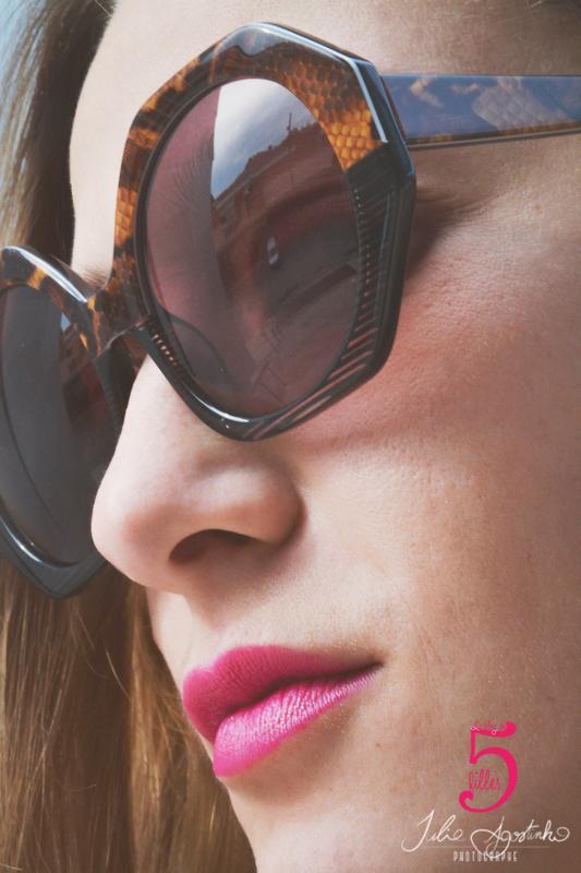 lunette marron
