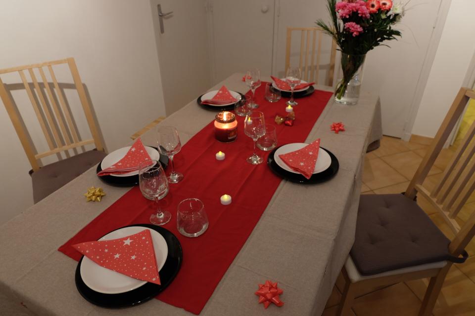 Ma table en f te pour no l gr ce babou le blog des 5 filles - Babou deco maison ...