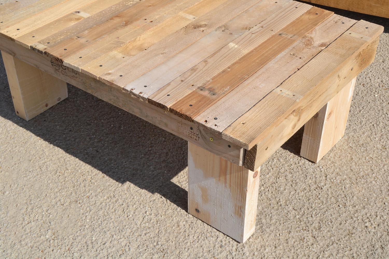 table basse diy en palettes