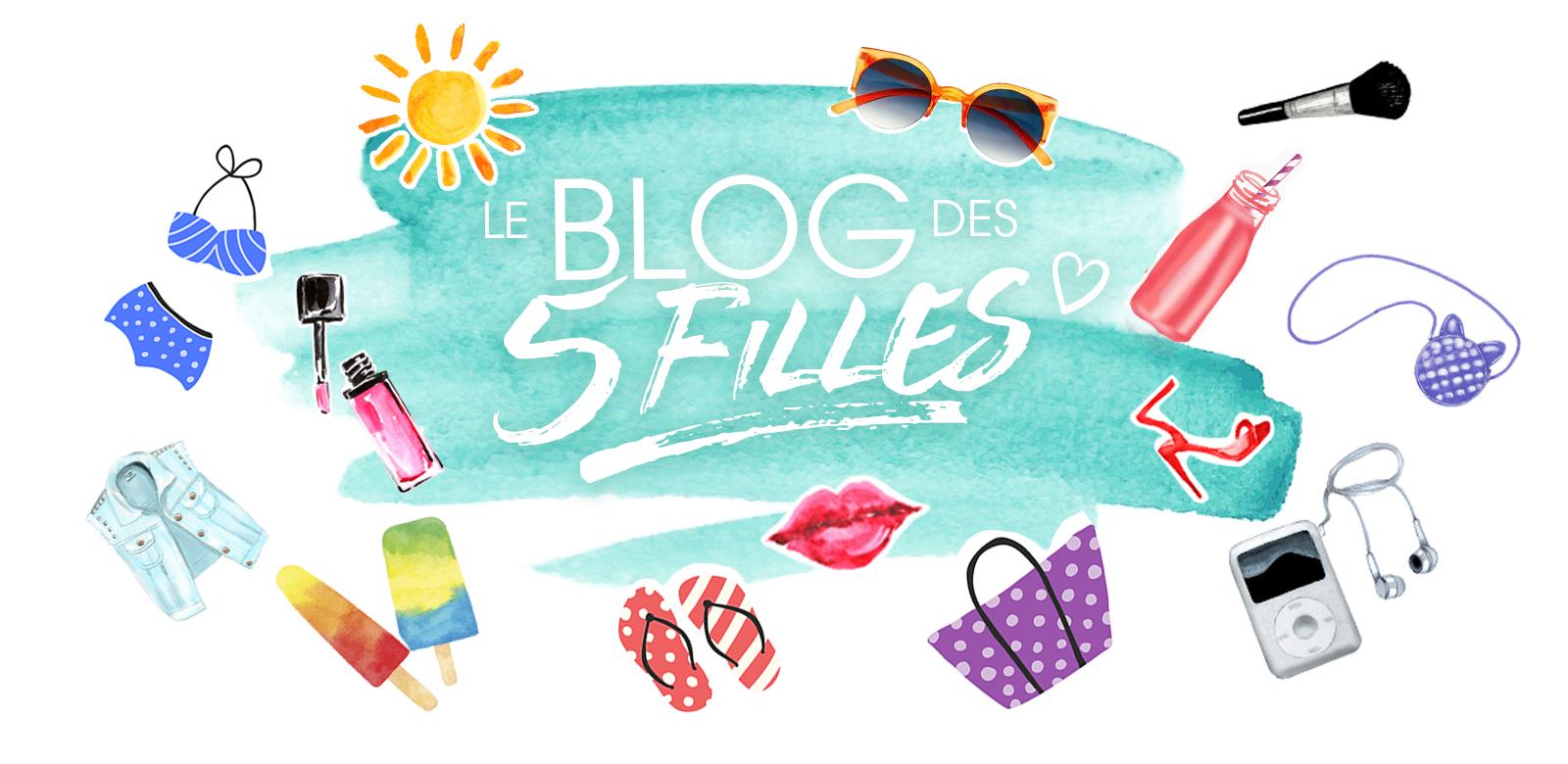le blog des 5 filles, bandeau, logo,